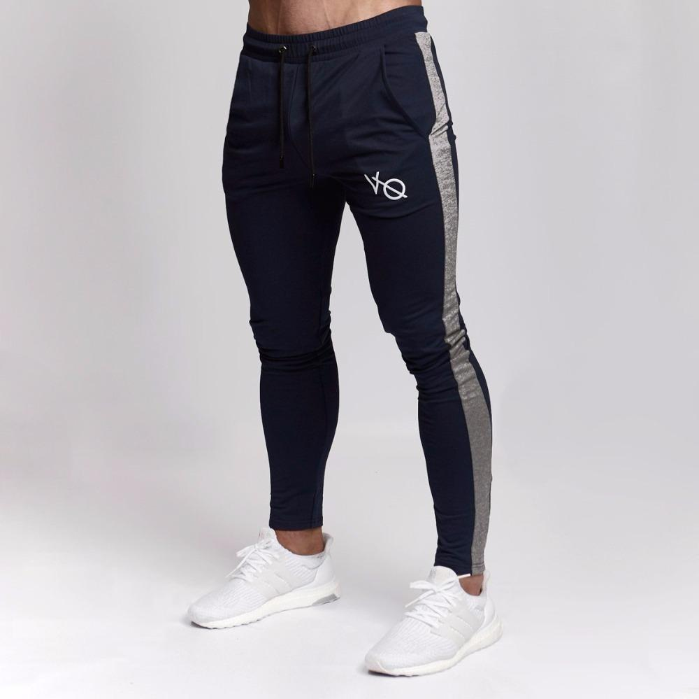 Compre Vanquish 2018 NUEVOS GYMS Pantalones De Chándal Para Hombre Gimnasio  Moda Casual Marca Joggers Pantalones De Chándal Pantalones Snapback  Inferiores ... bfec118ddc7