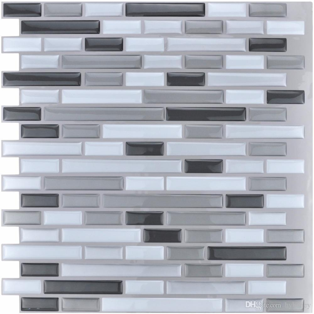 Wholesale Peel And Stick Tiles Kitchen Backsplash Tiles 12\'\'X12\'\' 3d ...