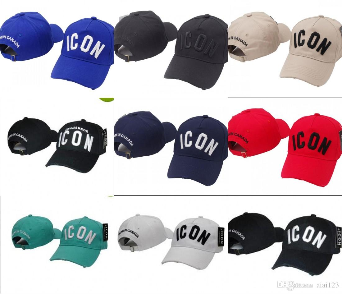 a53e59f0e1a 2018 New 200 Design Classic Popular Letters ICON Cap Adjustable ...
