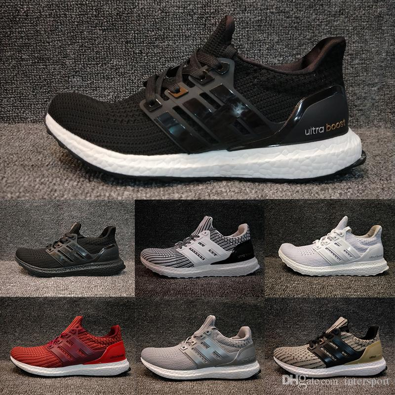 2018 Ultra Boost 4.0 men women Run Shoes Triple Black white oreo blue UltraBoost Primeknit Shoes sports sneaker EUR 36-45 sale low shipping sale 2015 new outlet high quality high quality sale online VQt5zME