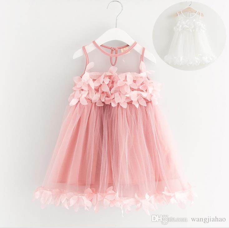 0aa55315a 2018 New Arriavl Noble Princess Dress Summer Children Lace Crochet ...