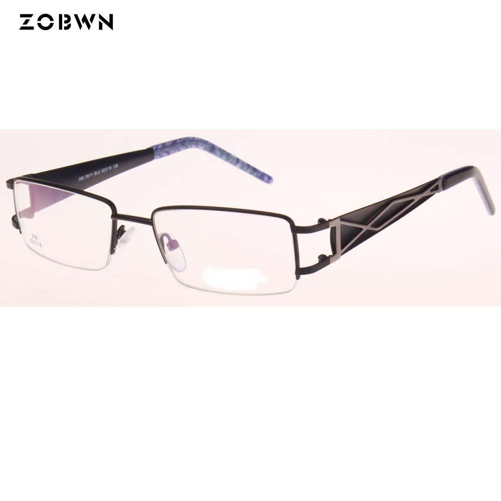 2e3ce11f23b879 Großhandel Halbrand Neue Marke Designer Brillen Frauen Brillen Unisex Brillen  Rahmen Gläser Optischen Rahmen Plain Gläser Oculos De Sol Von Shuidianba