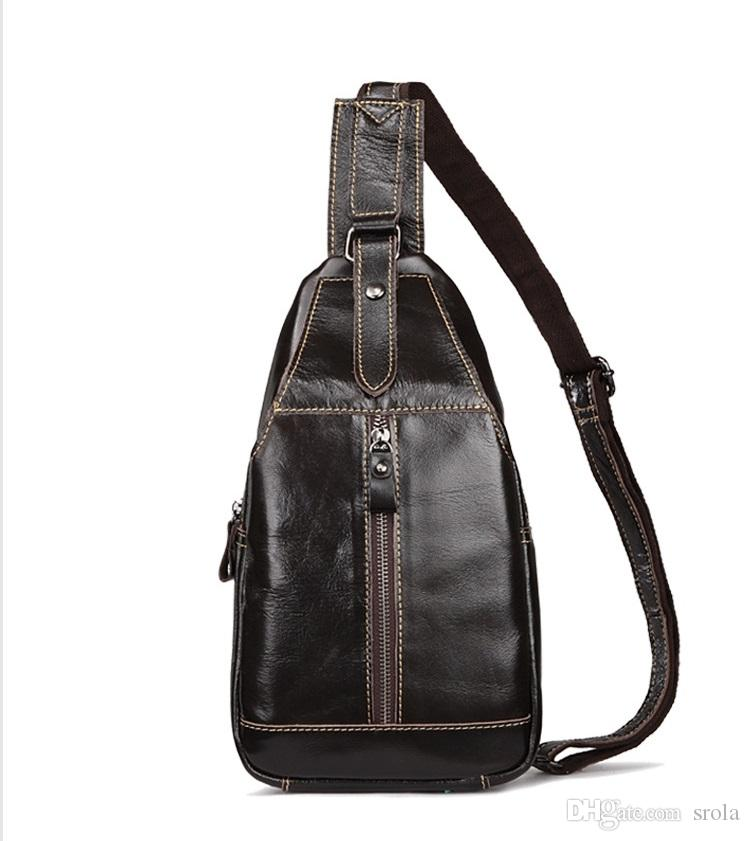 2b6013b0b91a Brand New Fashion Vintage Sling Bag Large Capacity Leather Leisure Sports Bag  Designer High Quality Leather Shoulder Bag For Outdoor Ladies Purse Leather  ...