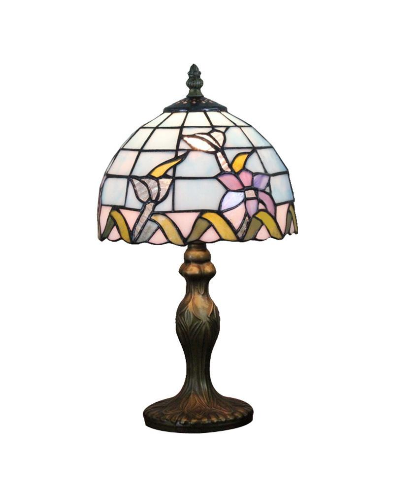 2018 Free Table Lamps Style No 8s2535 Stained Glass Art Desk Light Fixture Terranean Sea Bedroom E14 110v 220v From Kirke