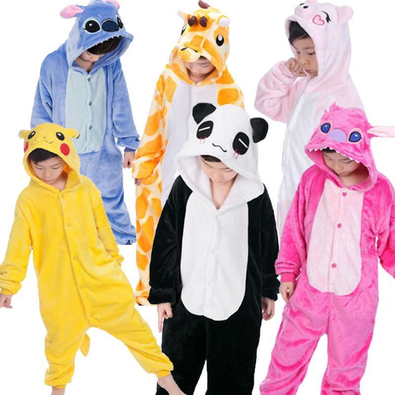 Nachtwäsche & Nachthemden Babykleidung Jungen Tier Pyjamas Kinder Baby Jungen Mädchen Decke Sleeper Kinder Pyjamas Jungen Mädchen Pyjamas Kinder Tier Cosplay Pyjama Nachtwäsche