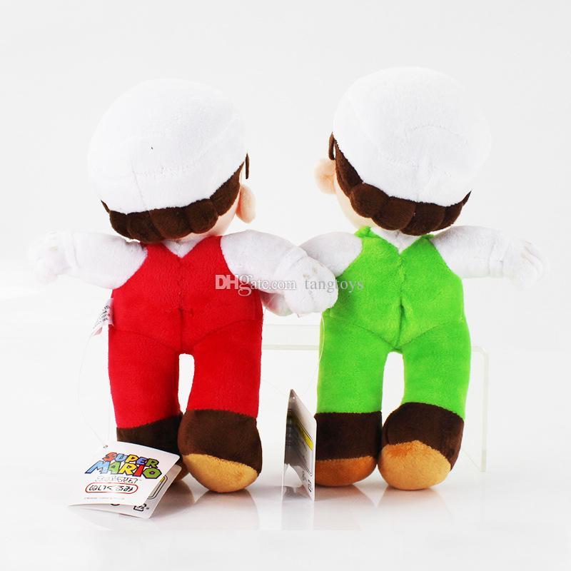 10 인치 봉제 완구 슈퍼 마리오 브라더스 만화 소프트 봉제 인형 동물 게임 영화 액션 Firgures 어린이 크리스마스 선물에 대한