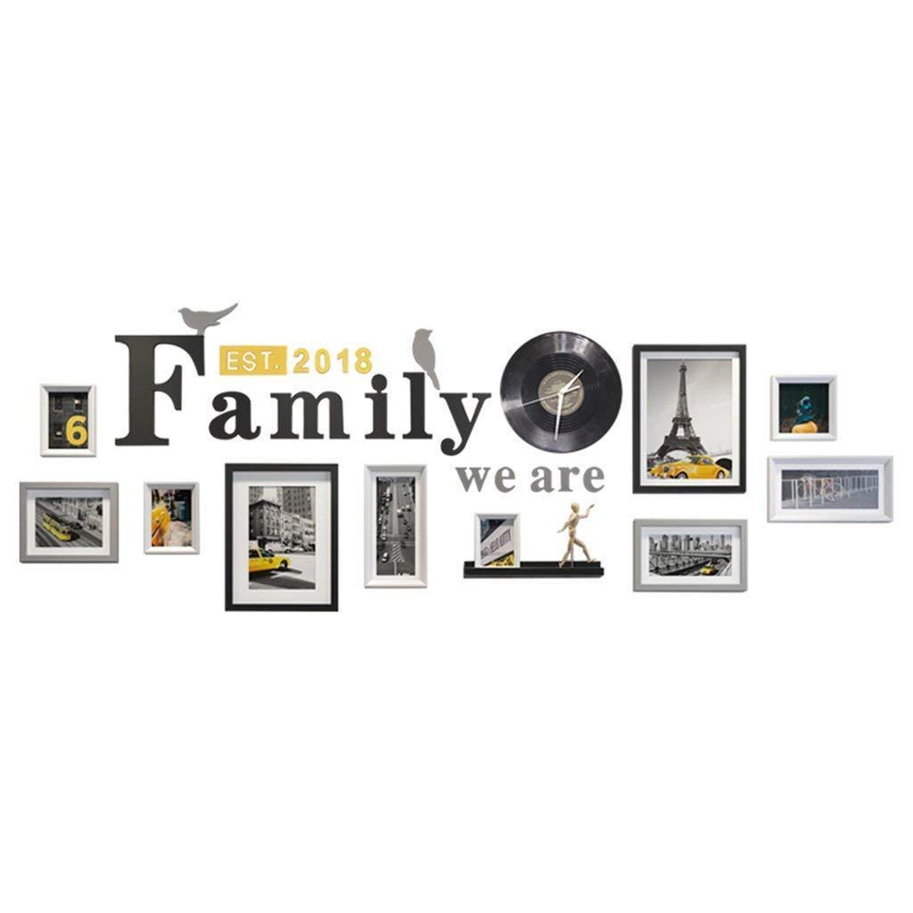 07023863e Compre 10 Peças Misturadas Cores Photo Frame Wall Gallery Kit Inclui   Quadros