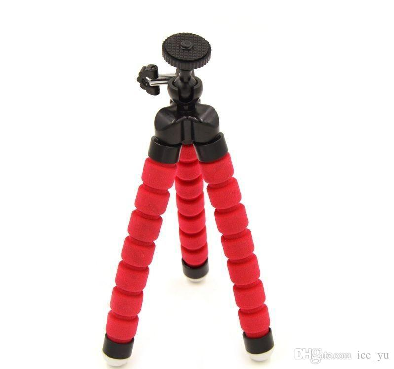 Mini Portable Flexible Tripod Holder Mount Stand For Action Camera Gopro Hero 3/3+/4 Accessories Mobile Phone for iPhone Samsung