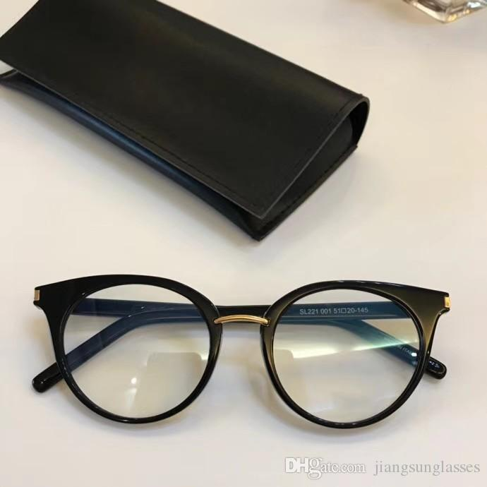 f5afd24579 Brand Designer Prescription Glasses 221 Men Womens Glasses Frame ...
