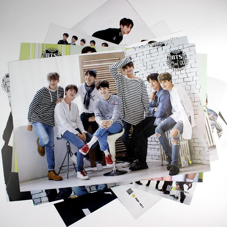 8 * 42x29cm NEUE BTS FLÜGEL Poster Wandaufkleber Geschenk Bangtan Boys