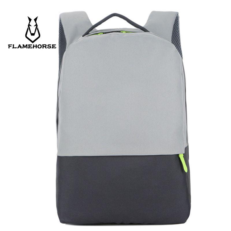 Flame Horse Brand Men New Fashion Shoulder Backpack School Bags Computer  Laptop Bag Travel Unisex Large Business Backpacks Work Best Backpacks Girls  ... eb755aeeb3152