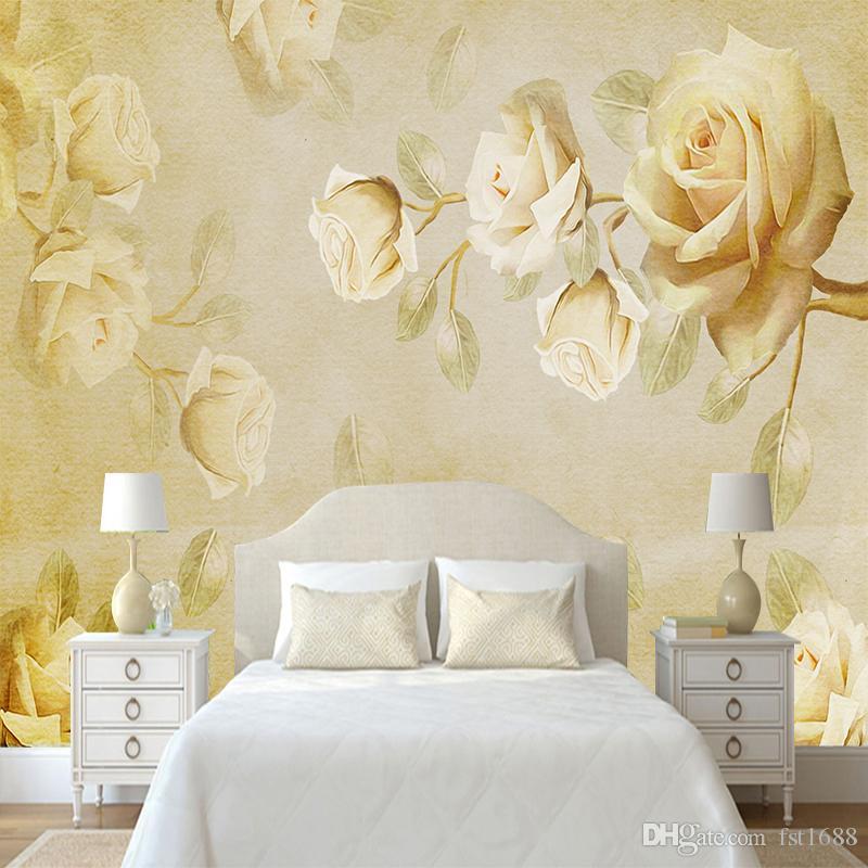 Custom Any Size 3d View Diy Wall Mural Wallpapers Modern Fashion Big