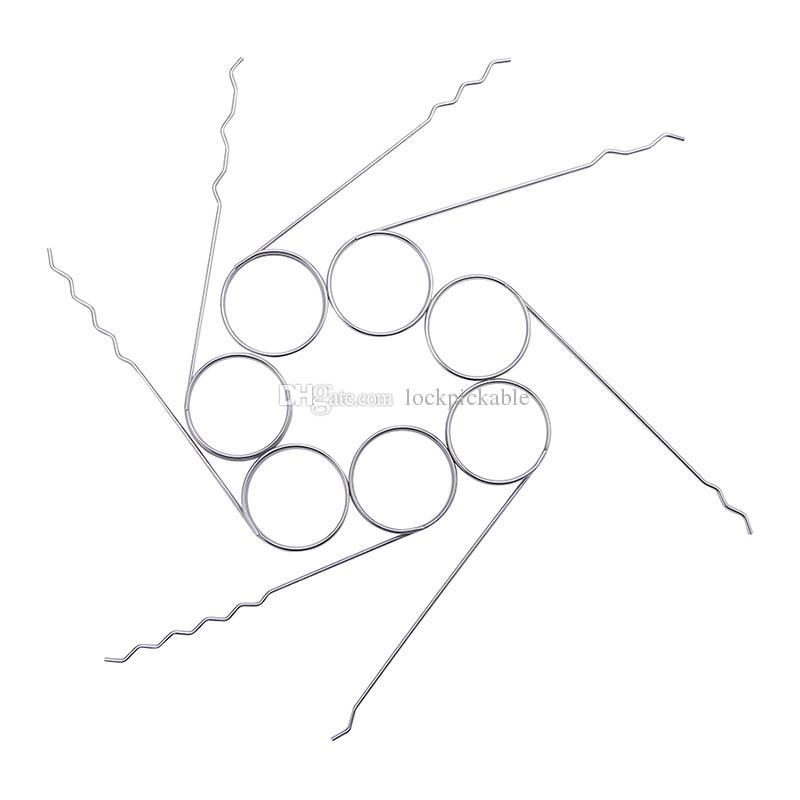 KLOM Finger Rake Picks Set Picks Wave - Premium Rake Lock Pick + Wave Lock Rake Set para Lock Pickers para Venda