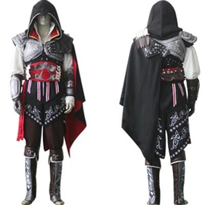 Assassins Creed Ezio Cosplay Costumes Halloween Costume for Men Full Set Customized