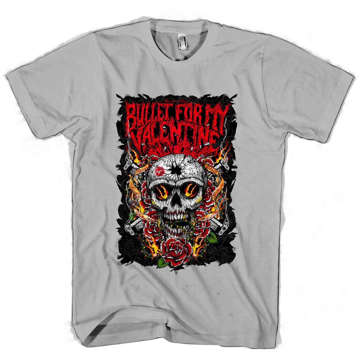Bullet For My Valentine Skull Men S Women S T Shirt Cool Tshirts
