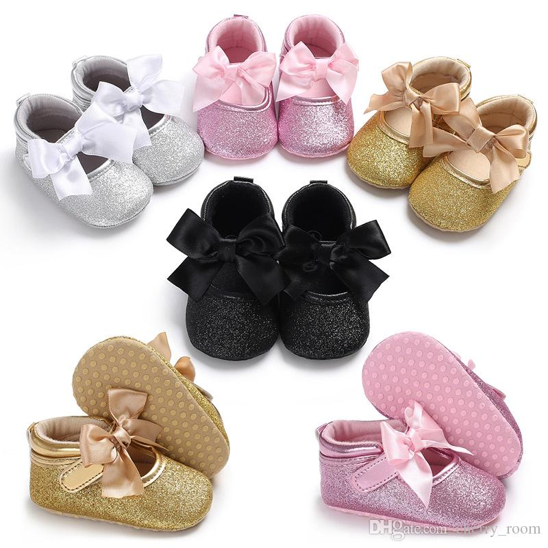 bb82db12857 New Arrivals Soft Bottom Anti-skid Baby First Walkers Shoes Kids ...
