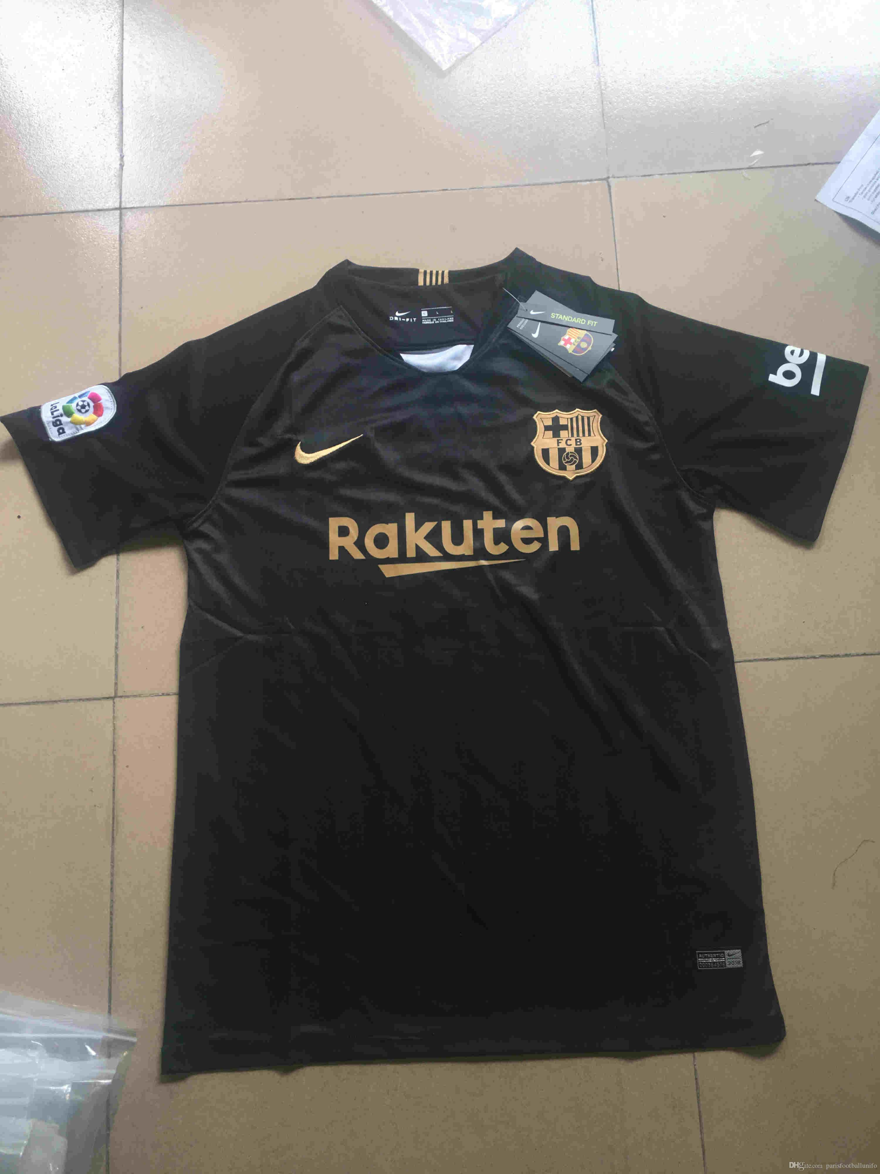 Barcelona Jersey SUAREZ O.DEMBELE 18 19 Home Away Soccer Jersey ... bd80b28313388