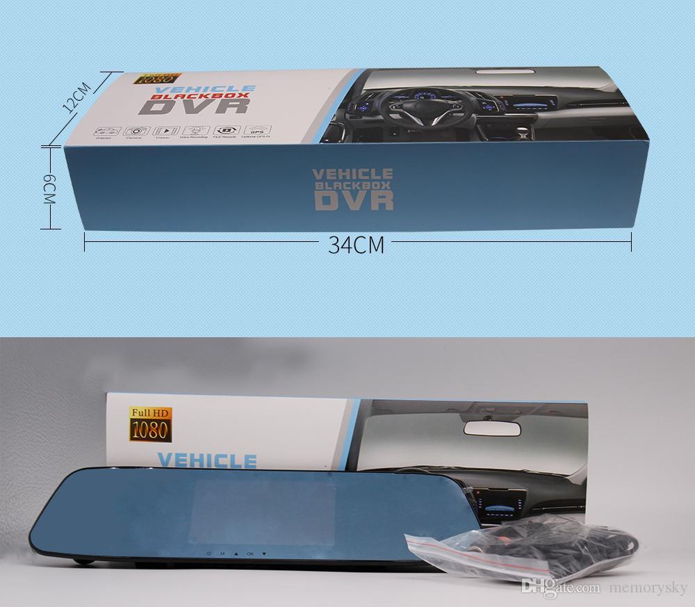 X10 HD 1080P Ture 듀얼 카메라 자동차 DVR 차량 대시 터치 스크린 도로 안전 자동차 DVR 카메라 비디오 레코더 타코 그래프
