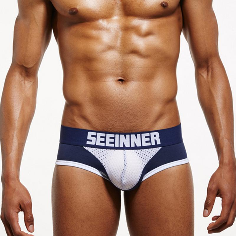 Hot Sexy Männer Tanga Slip Unterwäsche Tanga Eis Seide Dünne Höschen Pouch Bikini Strand Body Dessous Kurze Männlichen Unterhose M-2xl Sport & Unterhaltung Schwimmen