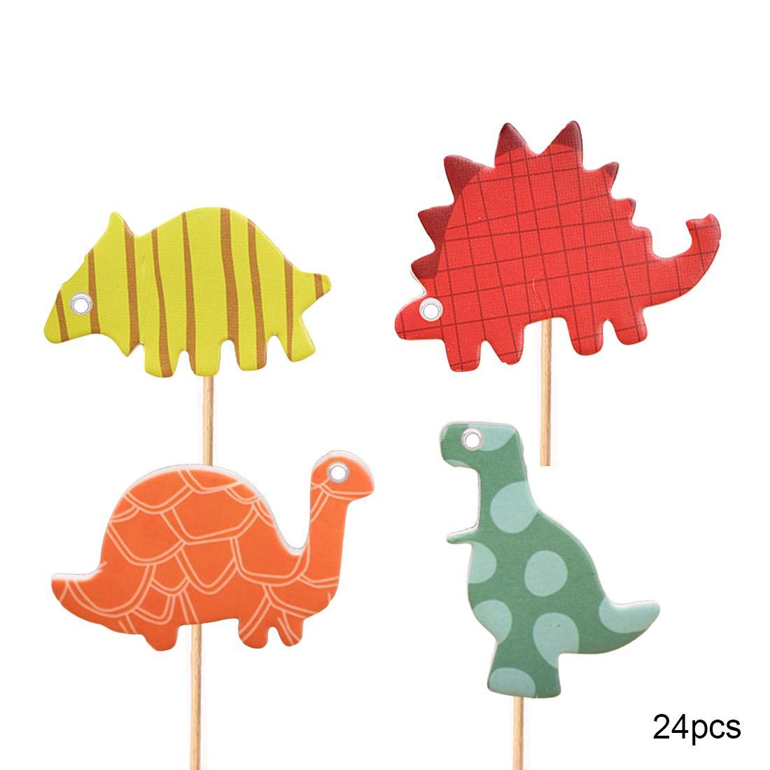 Il la cosa migliore / set decorazione della torta del bigné del dinosauro la decorazione di acquazzone del bambino scherza la decorazione del partito di cottura del partito della torta di compleanno dei capretti