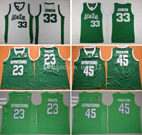new styles bdcc2 a18f0 sweden spartans 45 denzel valentine green authentic ...