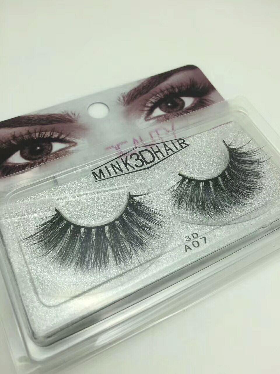 3d Mink lashes Fur Eyelashes Thick real mink HAIR false eyelashes natural for Beauty Makeup Extension fake Eyelashes false lashes 8 STYLES