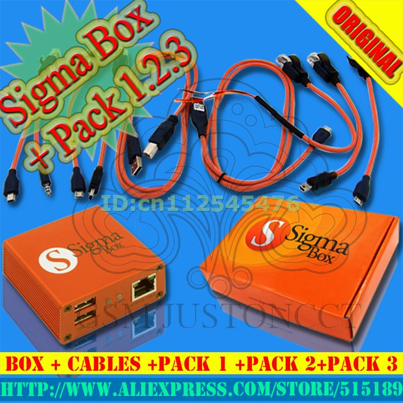 wholesale sigma box+pack1+pack2+pack3 Actived /SIGMA BOX +PACK1+PACK2+PACK3  For Huawei +Free Shipping HongKong Post Air Mail