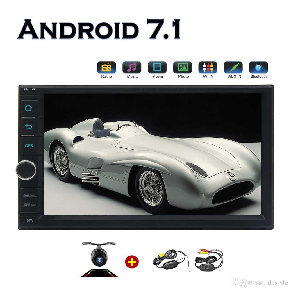2g+32g Wifi Model Android 7.1 Octa Core 7 Universal Car Radio 2 Din Stereo  Navigation Bluetooth Wif Obd Dab+ Mirror Link Wireless Camera Cheap Car  Audio ...