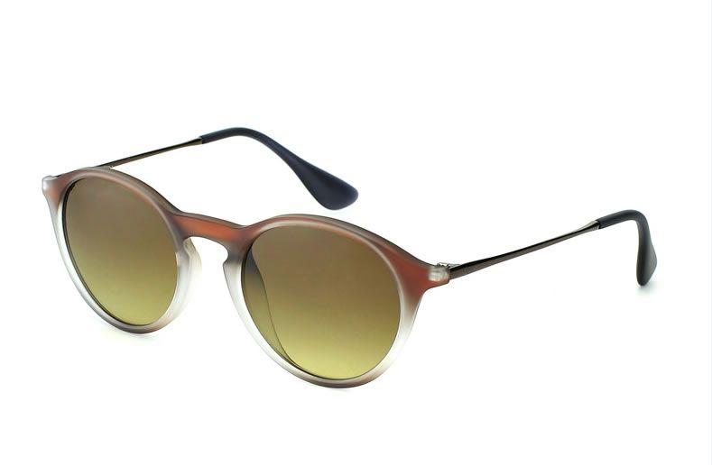 0d24f49005a Fashionable Luxury Designer Brand Womens Round Sun Glasses Mens ...
