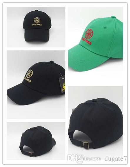 ce335d6b7ffec Newest Arrival Kanye West Saint Pablo World Tour Merch Dad Hat Embroidery  High Quality Custom Hat Caps For Men From Dugate7