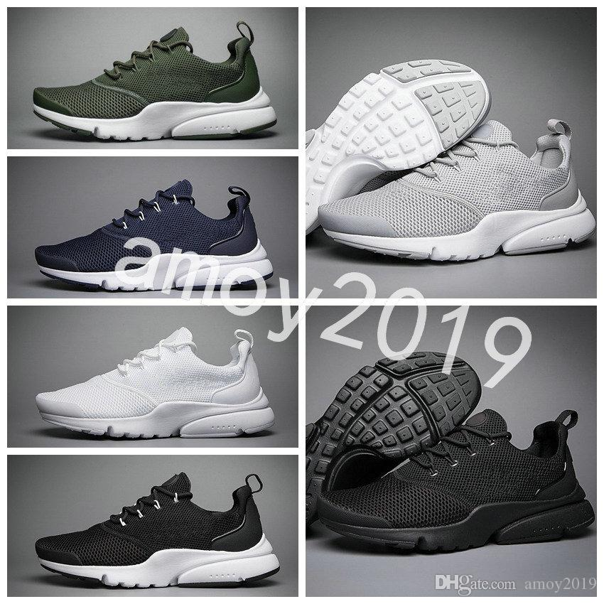 b3ab7bceb4672 New 2018 Presto Fly Ultra Olympic BR QS Men Women Running Shoes Navy Black  Fashion Casual Prestos Mens Trainers Sports Sneakers Size 36 45 Best  Running ...