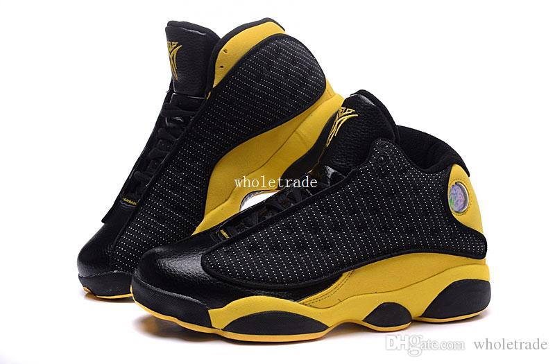 c963cac193e 13 Melo Basketball Shoes Mens 13 MeloPE Black Yellow Sneakers Size US 8 13  Come With Box Boys Basketball Shoes Cp3 Shoes From Wholetrade