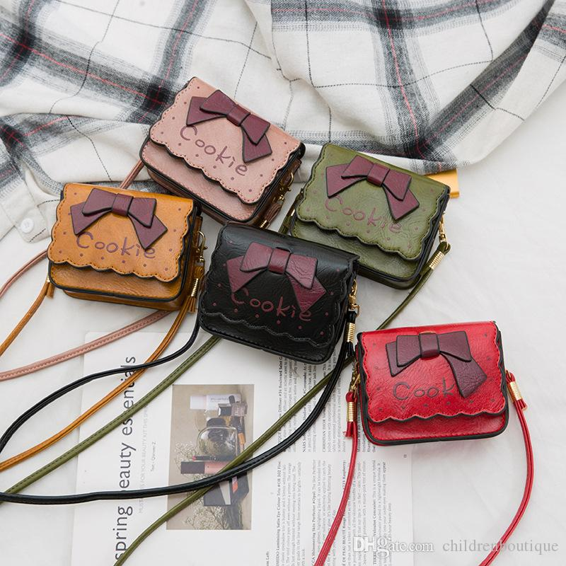 Kids Designer Handbags Newest Korean Boys Girls Mini Princess Purses Wallet Classic Letter Printed Shoulder Bags Children Christmas Gifts