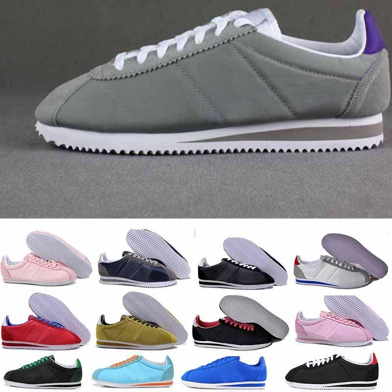 online retailer 5456f b2588 new 2018 Best new Cortez shoes mens womens casual cheap leather cortez  ultra Ventilation walking shoes sale 36-45