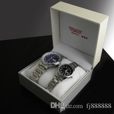 08880a16168 Compre Frete Grátis SWIDU SWD 01 Dual Tone Caixa De Relógio De Presente  Premium Nuvem Escudo Padrão Tabela Relógios Caixa Atacado De Fj888888