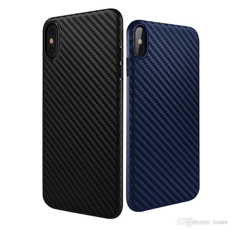 brand new e928b 8b00d HOCO For Iphone XS Max Case Carbon Fiber Soft TPU Back Cover Phone Cases  for Iphone XS XR