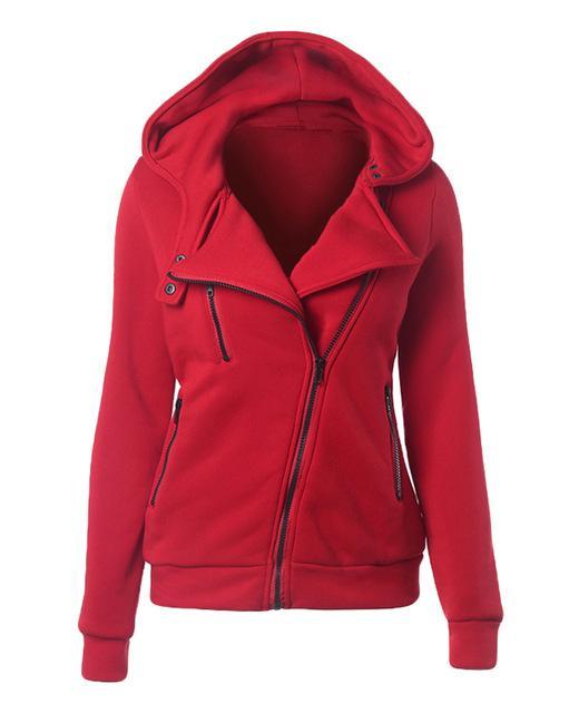 e80b0ba61b7 Female Hoodies Sweatshirt Autumn Winter Long Sleeve Zip Bts Hooded  Sudaderas Mujer Warm Women Tracksuit Harajuku Streetwear