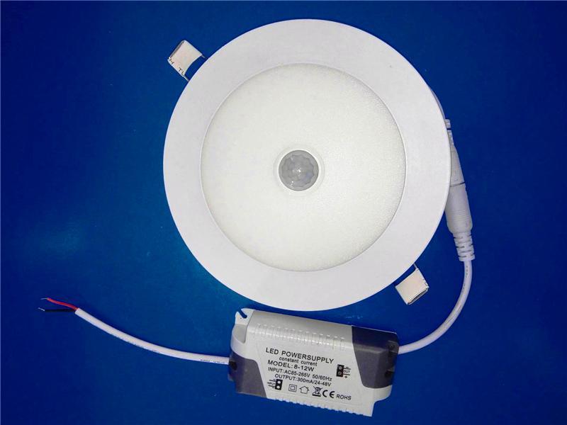 Plafoniere A Led Con Sensore Di Presenza : Acquista faretto da incasso a led pannello pir sensore di