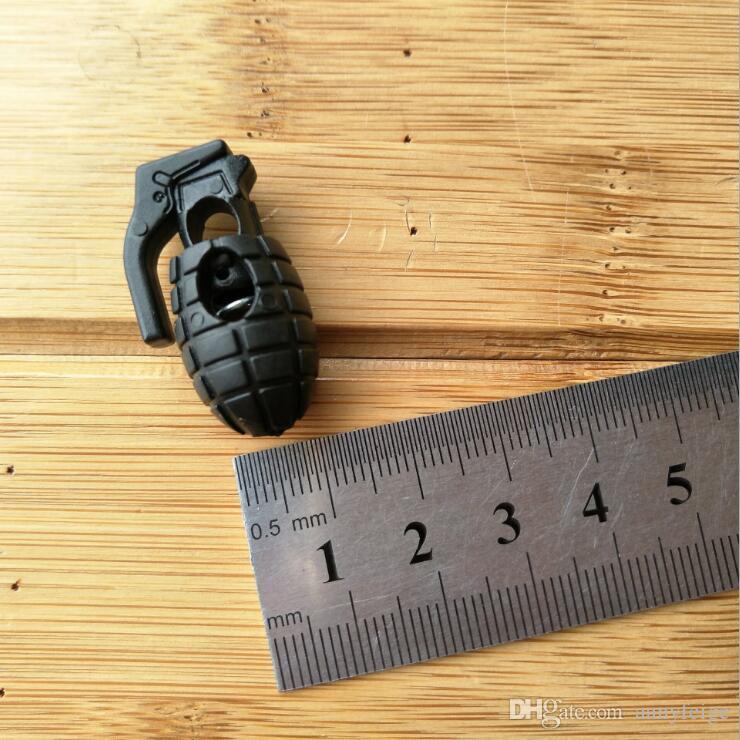 EDC Gear Tactical Outdoor Wanderschuhe Schuhe Schnürsenkel Anziehen Rutschfeste Schnalle Schnürsenkel Schnalle Clip Kostenloser Versand