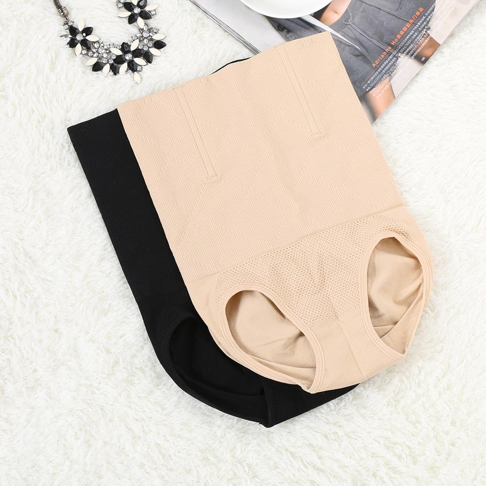c59e3342f 1PC New Black Skin Lady s High Waist Body Shaper Brief Underwear Tummy  Control Panties Shapewear Size M L XL XXL Lady Knickers