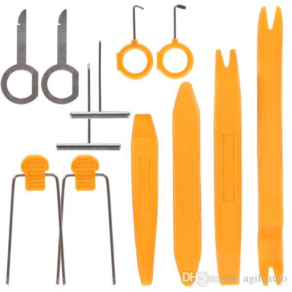 12 unids Auto Car Radio Estéreo Dash Removal Instalar herramientas de palanca para diferentes vehículos CDE_911