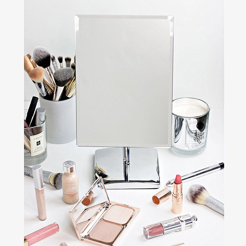 Specchi Moderni Senza Cornice.Acquista Specchio Di Trucco Di Vanita Tfcfl Specchio Da Tavolo Di