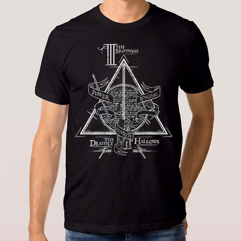Neck Harry Cotton 3xlt Tee O Summer T New Shirt Xs Potter hdCQtsr