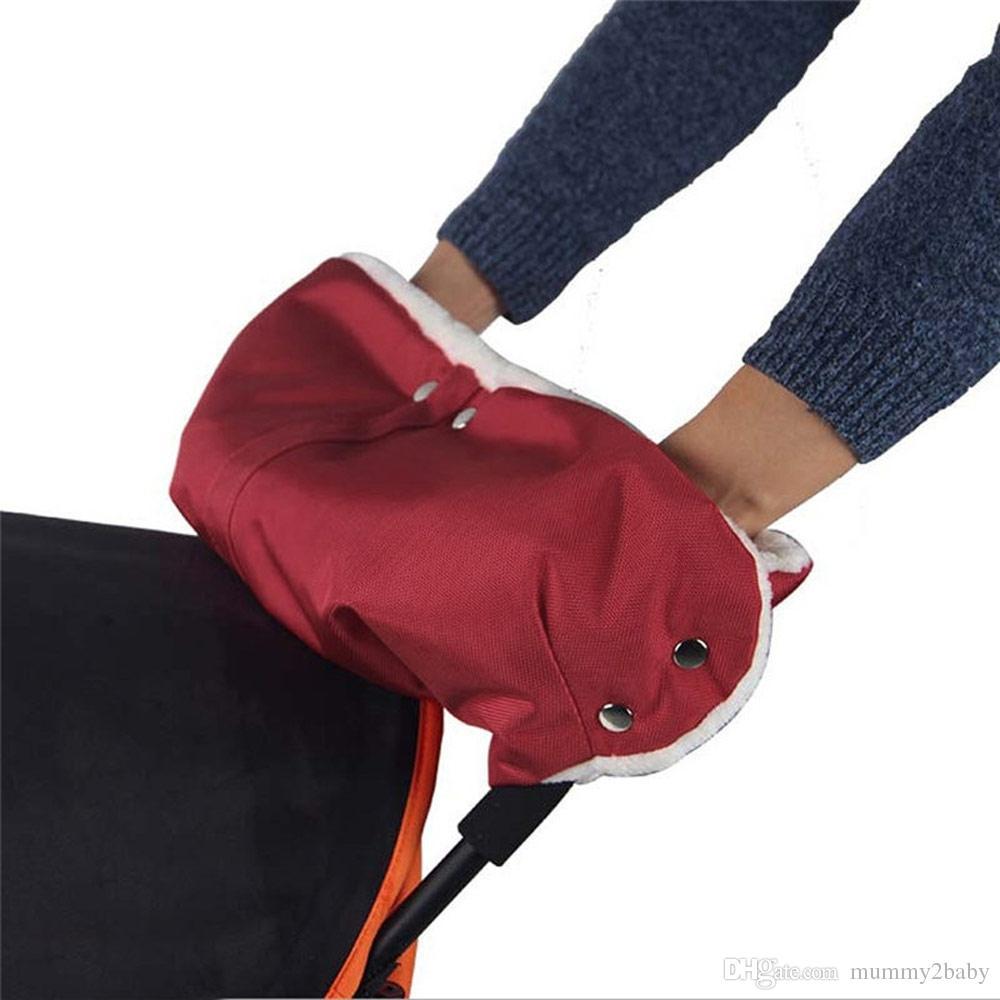 Stroller Wärmer Handschuhe Kinderwagen Hand Muff Wasserdichtes Pram Zubehör Warm