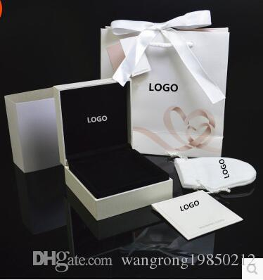 Famous Brand Bracelets Necklace Box Set with Original Certificate