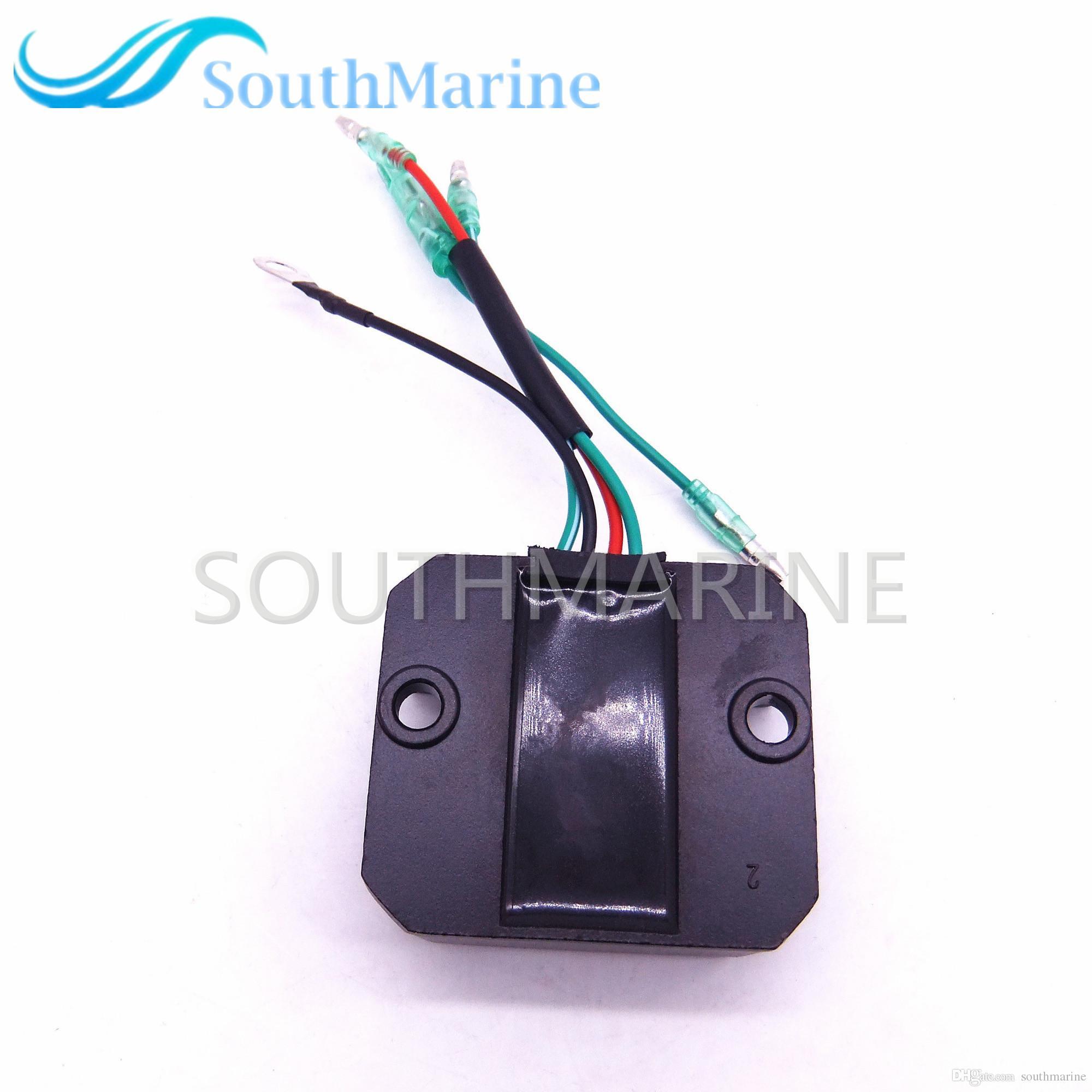 Regulator Boat Wiring Electrical Diagrams Voltage 6ah 81960 00 Motor Rectifier For Yamaha 4 Stroke Harley Diagram