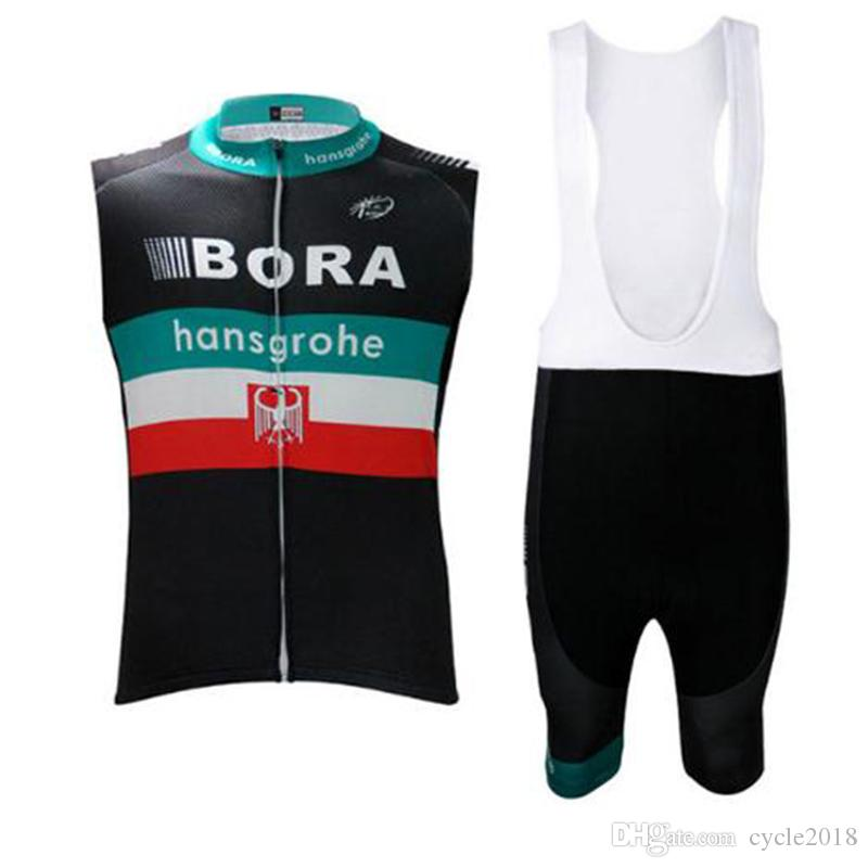 2017 BORA Pro Team Cycling Jersey Bib Shorts Set Ropa Ciclismo Quick ... e5a557f05