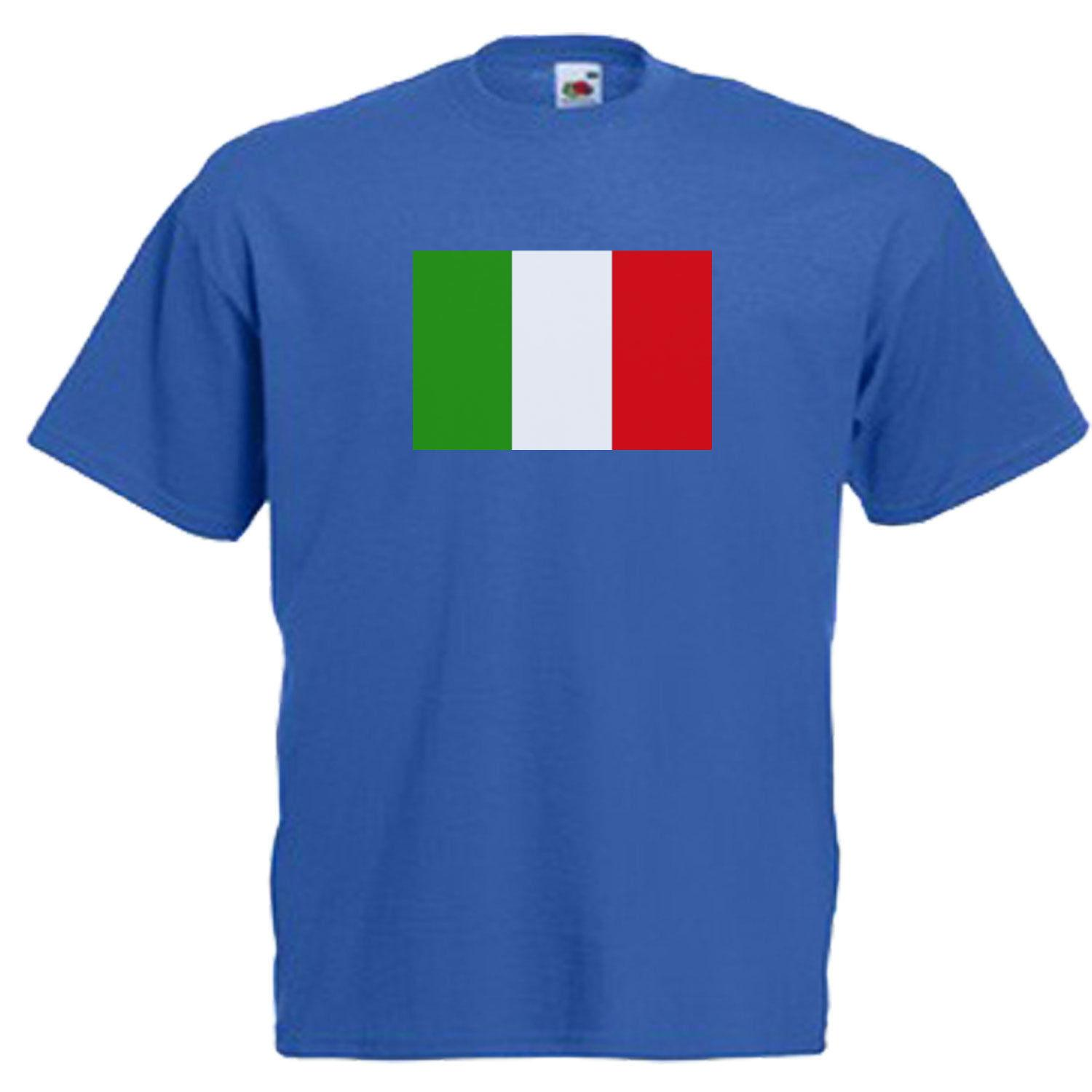 Italy Italian Flag Adults Mens T Shirt 100% Cotton Funny Men T Shirt 2018  New Arrival Short Sleeve Top Tee White T Shirt Designs Awesome T Shirt  Sites From ...