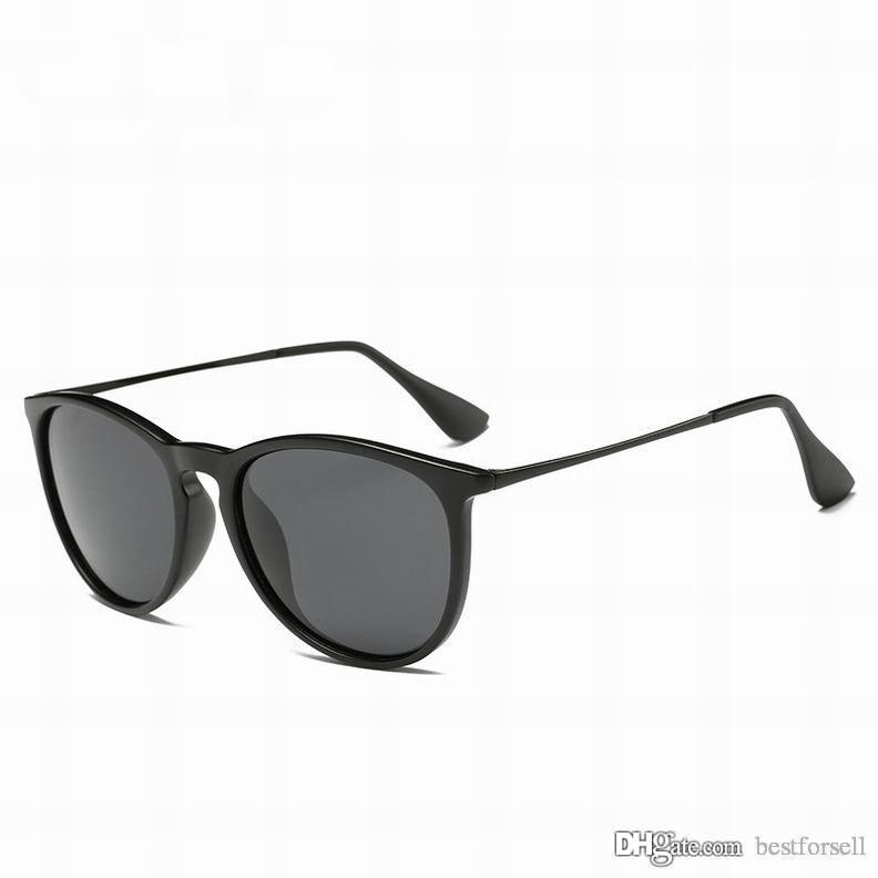 bd284302bf Compre Moda Gafas De Sol Clásicas Para Hombres Y Mujeres De Marca Vintage  Marco De Metal Diseñador De Gafas De Lujo Negro Mate Leopardo Gafas De Sol  Con ...