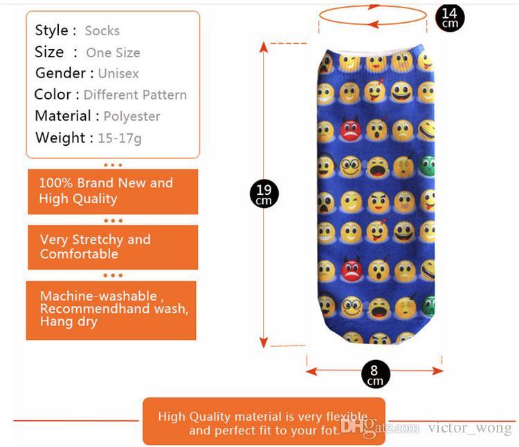 Adultos Niños Medias Deportivas Calcetines de Tobillo Impresos 3D Unisex es Cheerleader Personalizado Stocking Cortos Calcetines de Algodón Suave